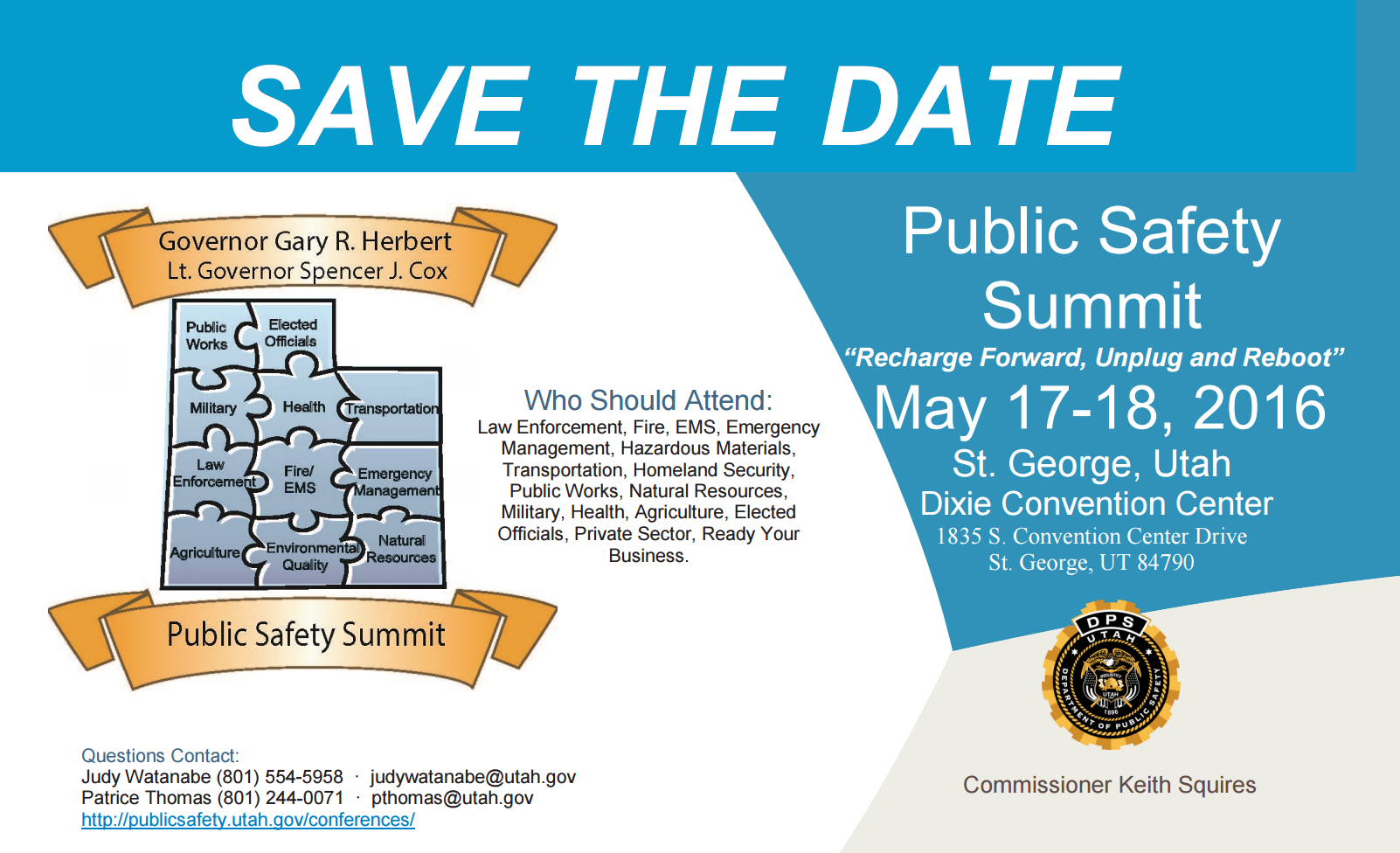 screen shot safety summit 2016 save the date